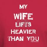 Womens lift heavy tee T-shirts
