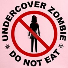 Undercover Zombie - Do Not Eat Performance Dry T-S