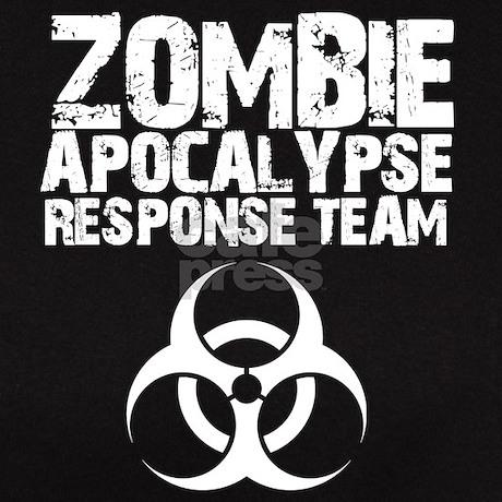 CDC Zombie Apocalypse Respons Tee By Massappeals