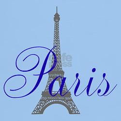 Paris Always (bleu) T-Shirt
