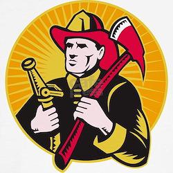 fireman firefighter Tee