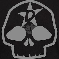 DorkStar Skull Black T-Shirt