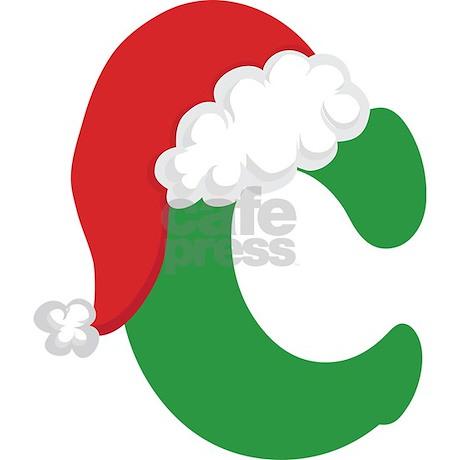 Christmas Letter C Alphabet Mug By Mainstreetshirt