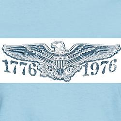 Vintage Bicentennial 1776 Women's Pink T-Shirt