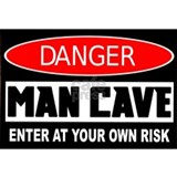 Danger Man Cave Mug