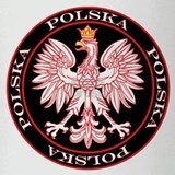 Round Polska Eagle Drinking Glass