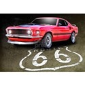 Muscle car Wall Decals