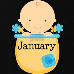 January Baby Boy T-Shirt