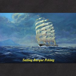 Sailing Barque Peking T