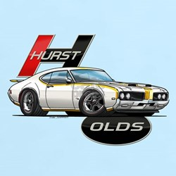 1969 Hurst Olds T-Shirt