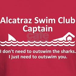 Alcatraz Swim Club Captain T-Shirt