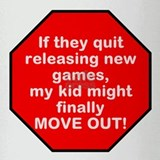 Games Kid Move Out Drinking Glass