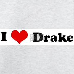 I Love Drake Ash Grey T-Shirt