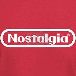 Big N Nostalgia (White on Red)