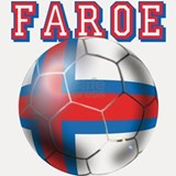 Faroe Islands Football Shot Glass