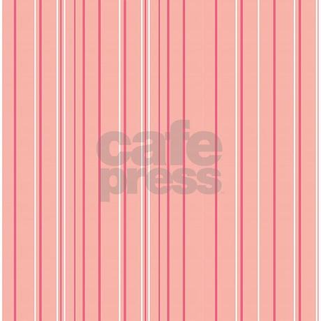 Stripes Multi Peach Shower Curtain By Admin Cp45405617