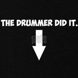 Baby bump shirt drummer T-shirts