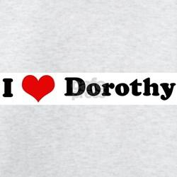 I Love Dorothy Ash Grey T-Shirt
