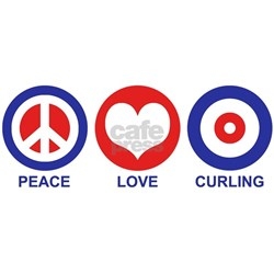 Peace Love Curling Tee