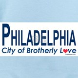 City of brotherly love Baby Bodysuits