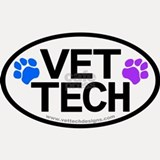 Shot Glass - Vet Tech Pawprints