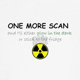 Funny cancer radiation T-shirts