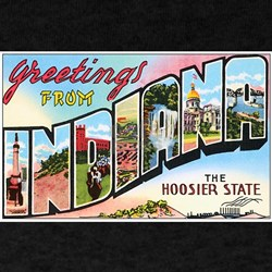 Indiana Greetings (Front) T-Shirt