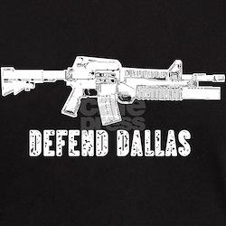 Defend Dallas Black T-Shirt