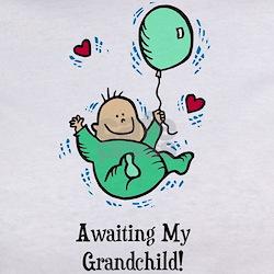Awaiting Grandchild Tee