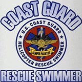 Rescue Swimmer Drinking Glass