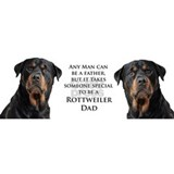 Rottie Dad Small Mug