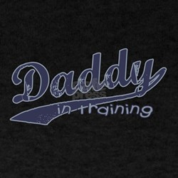 Daddy in Training Black T-Shirt