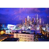 Cityscape Wrapped Canvas Art