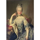 Marie antoinette Wrapped Canvas Art