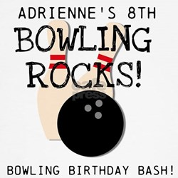 Customized Bowling Birthday T