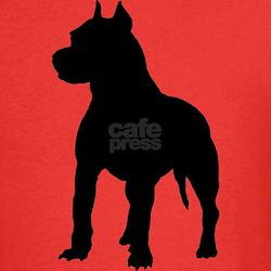 Pitbull Terrier Silhouette T