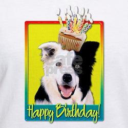 Birthday Cupcake - Border Collie Shirt