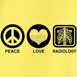 Peace Love Radiology T