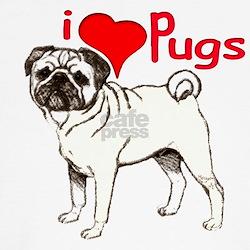 pug love T