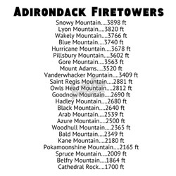 Adirondack Firetowers Shirt
