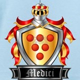 Medici coat of arms Baby Bodysuits