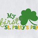 St patricks day Baby Bibs