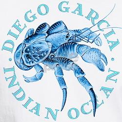 Blue Coconut Crab Shirt
