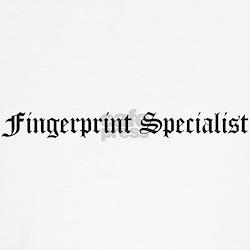Fingerprint Specialist Kids T-Shirt