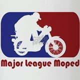 Major League Moped Drinking Glass