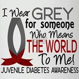 Means World To Me 1 Juvenile Diabetes Shirts Drink