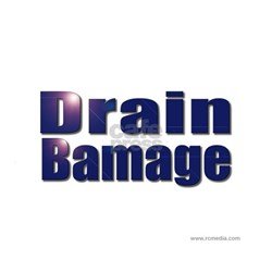 Drain Bamage Ash Grey T-Shirt