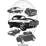 Muscle car Posters