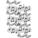 Musical notes Posters