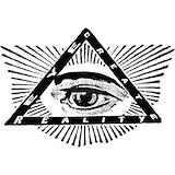 Illuminati Framed Prints